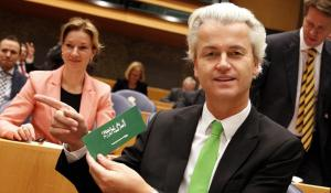 A profile of Islam's arch-nemesis in Europe, The Netherlands' Geert Wilders.