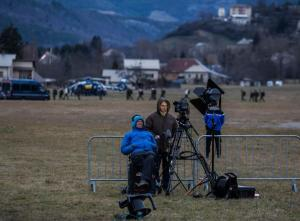 Reflections on covering tragedy, after a plane crash in the French Alps.